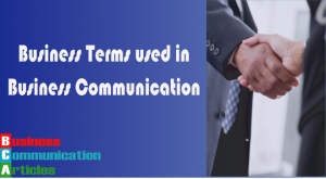 list_of_business_terms_used_in_business_communication