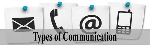 types-of-communication