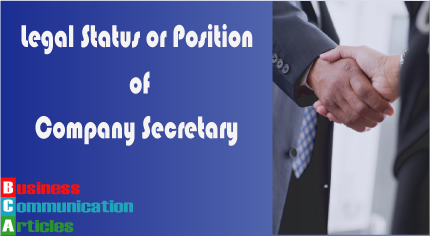 Position of Company Secretary